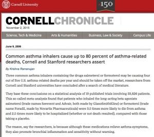 Asthma Inhaler Deaths 2006