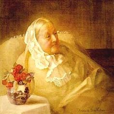 Old bedridden Woman