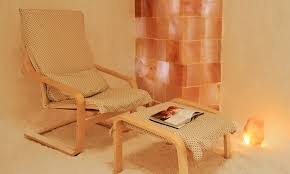 Halotherapy or Sea Salt Therapy room