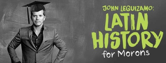 John Leguizamo Latin History promo