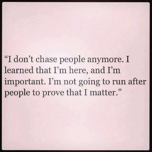 Refuse To Chase