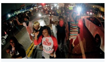 Fergussion Protestors
