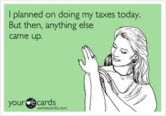 Taxes - anything but