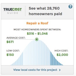 Repair Costs - roof resealing