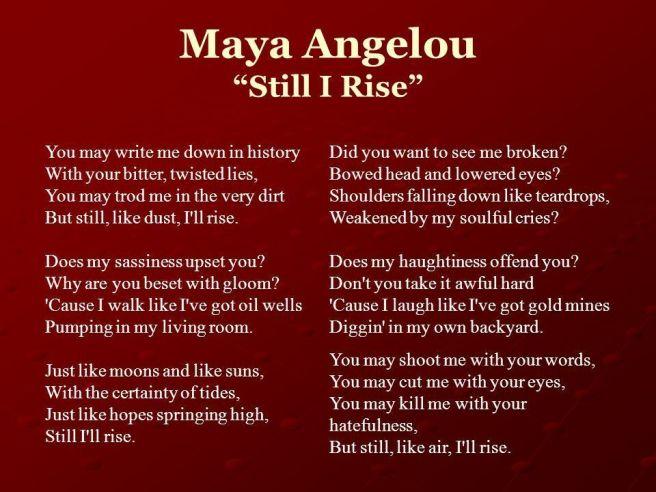 Still I rise II