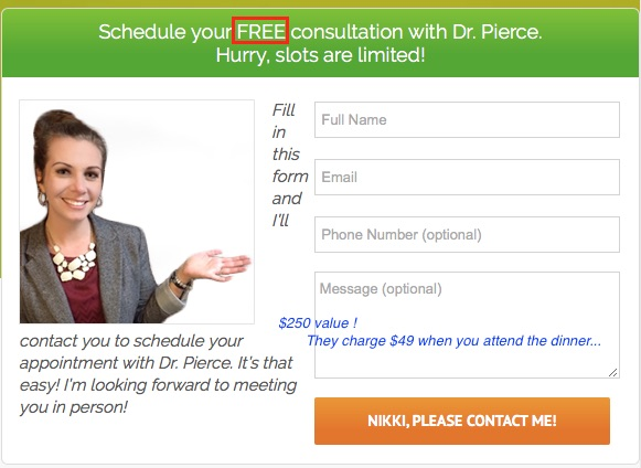 Dr Pierce Wellness Seminars