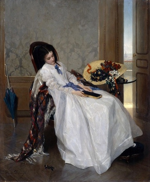 Gustave Leonard de Jonghe - After a Walk