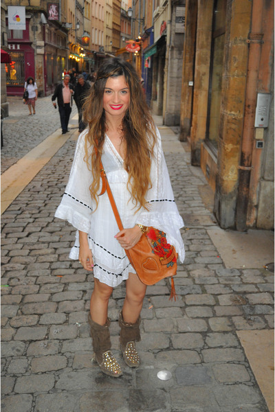 white-topshop-dress-brown-ibiza-las-dalias-shoes-brown-gucci-purse_400