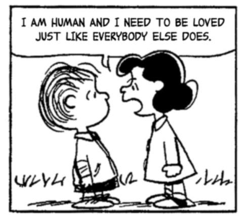 Lucy needs love too