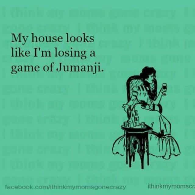 Losing Jumanji
