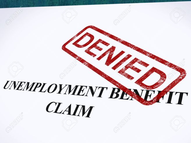 unemployment-benefit-claim-denied-stamp-showing-social-security-welfare-refused