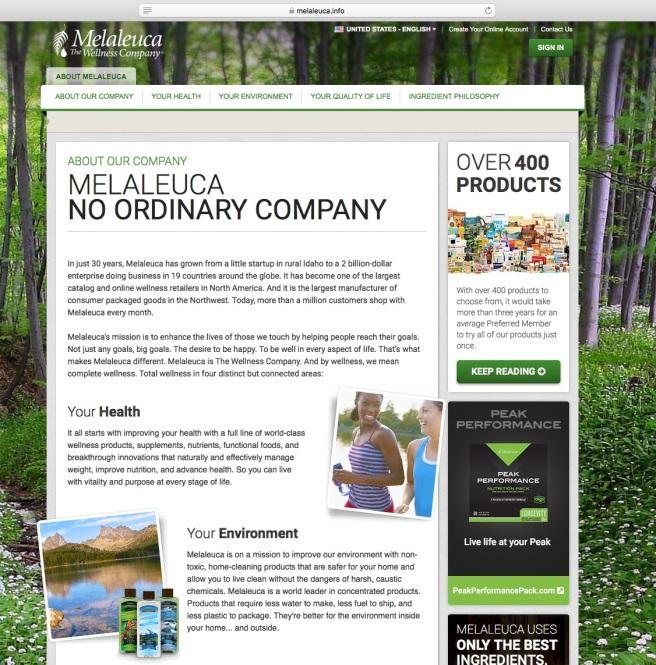 Melaleuca Company 01