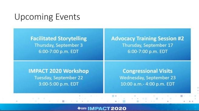 Impact 2020 goals